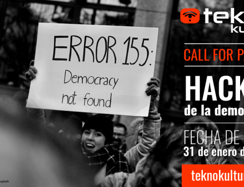 Call For Papers Teknokultura | Hackeo de la democracia